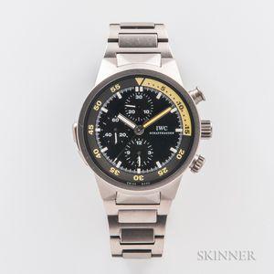 IWC Titanium Aquatimer Split Minute Chronograph Automatic Wristwatch and Box