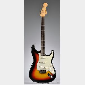 American Electric Guitar, Fender Musical Instruments, Fullerton, 1964,   Model Stratocaster