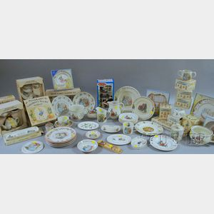 Approximately Forty-seven Wedgwood Peter Rabbit Ceramic Items and Sets.