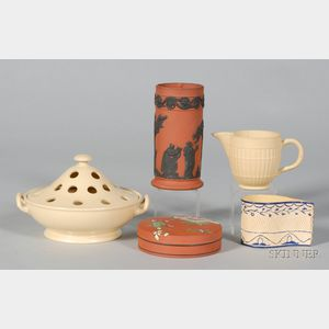 Five Wedgwood and Associated Dry Body Wares