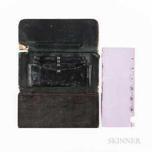 Mid-19th Century Leather Wallet
