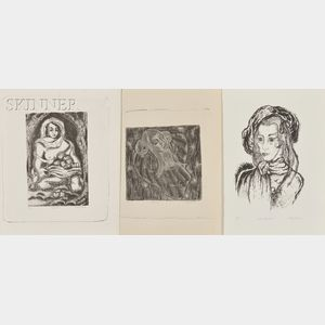 Fritzi Schermer Brod (American, 1900-1952)      Seven Images of Women:  Shalimara