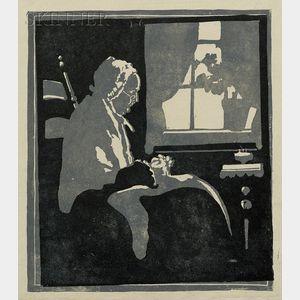 Eliza Draper Gardiner (American, 1871-1955)      Arrangement in Gray and Black.