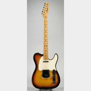 American Electric Guitar, Fender Electric Instruments, Fullerton, 1969