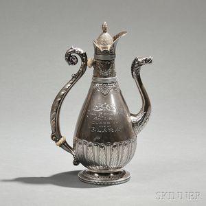 Gorham Sterling Silver Larchmont Yacht Club Trophy Coffeepot