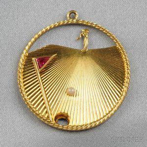 18kt Gold Charm, Tiffany & Co.