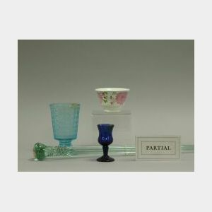 Miscellaneous Group of Glass, Ceramics and Bottles.
