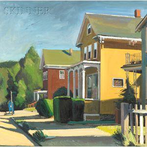 Richard Sheehan  (American, 1953-2006)      Arlington St., Hyde Park
