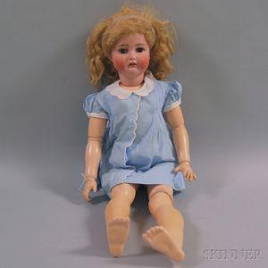 Large Simon & Halbig Bisque Socket Head Doll