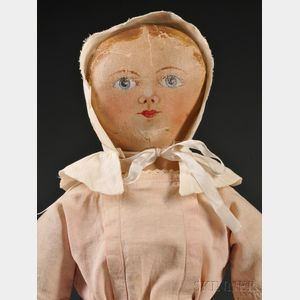 Maggie Bessie Painted Cloth Doll