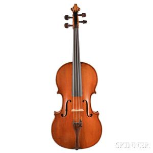 French Violin, Mirecourt, 19th Century