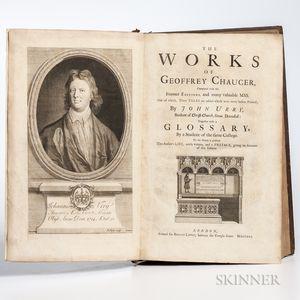 Chaucer, Geoffrey (c. 1343-1400) The Works,   John Urry, Editor.
