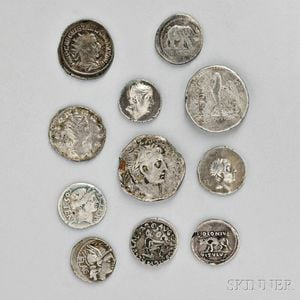 Sold for: $18,450 - Extensive Collection of Ancient Roman and Greek Coins