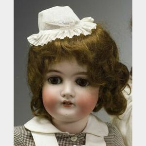 Queen Louise Bisque Head Doll
