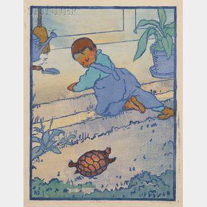 Eliza Draper Gardiner (American, 1871-1955)      The Turtle