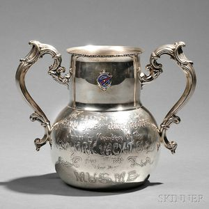 Black, Starr & Frost Sterling Silver New York Yacht Club Trophy