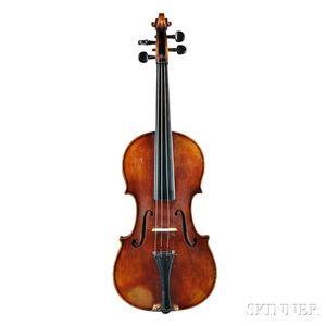German Violin, Ernst Reinhold Schmidt, Markneukirchen, c. 1900