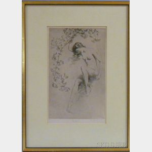 George Timothy Tobin (American, 1864-1956)      Ginkgo