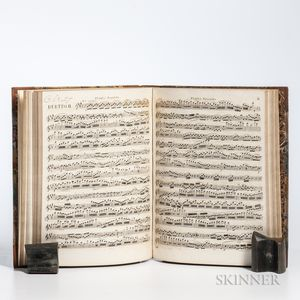 Berbiguier, Benoit Tranquille (1782-1835) Duos for Two Flutes, Four Volumes of Sheet Music, 19th Century.