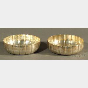 Pair of George III Silver Bowls