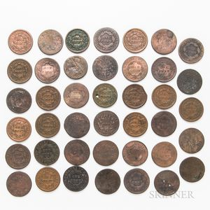 Eighty-eight Large Cents