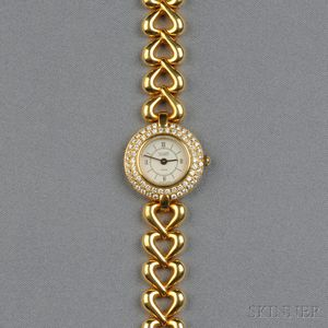 Lady's 18kt Gold and Diamond Wristwatch, Van Cleef & Arpels