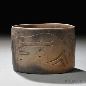 Olmec Terra-cotta Bowl