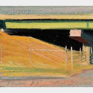Richard Sheehan  (American, 1953-2006)      New Bridge