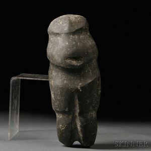 Mezcala Carved Stone Figure