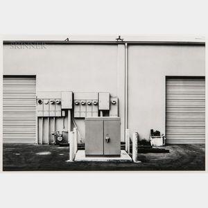Lewis Baltz (American, 1945-2014)      North Wall, Niguel Hardware, 26087 Getty Drive, Laguna Niguel