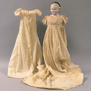 Blonde China Head Doll