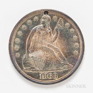 1868 Seated Liberty Proof Dollar