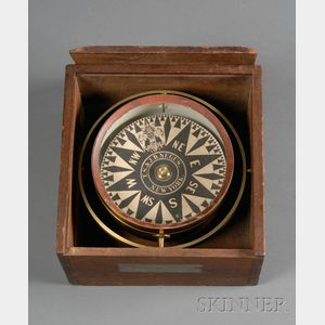 Box Compass by T. S. & J. D. Negus