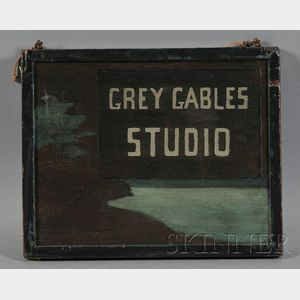 Grey Gables Studio Sign