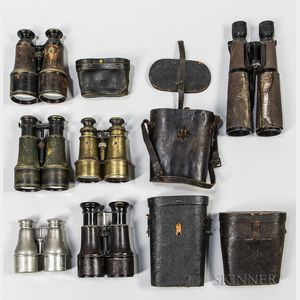 Group of Binoculars