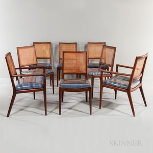 Eight Cumberland Furniture Company Dining Chairs
