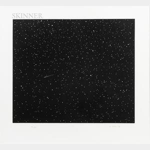 Vija Celmins (Latvian/American, b. 1938)      Comet