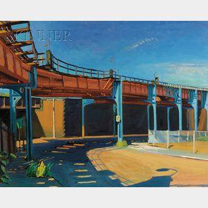Richard Sheehan  (American, 1953-2006)      Elevated