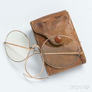 "Vintage ""Packard"" Driving Glasses"