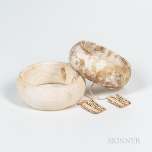 Two Solomon Islands Shell Armbands