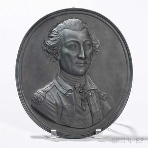 Neale & Co. Black Basalt Self-framed Portrait Plaque