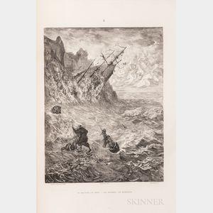Doré, Gustave (1832-1883) and Pierre Dupont (1821-1870) La Legende du Juif Errant.