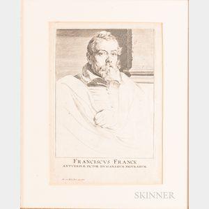 Anthony van Dyck (Flemish, 1599-1641)      Franciscus Franck