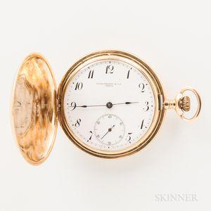 Patek Philippe & Co. 18kt Gold Hunter-case Watch
