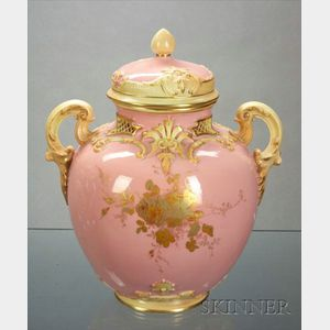 Royal Worcester Porcelain Potpourri and Cover