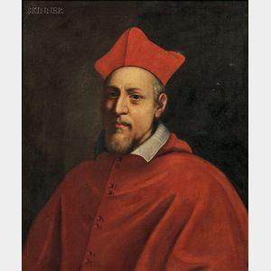 Italian School, 16th Century Style      Portrait of a Cardinal