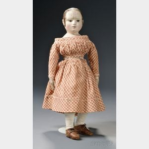 Izannah Walker Cloth Doll