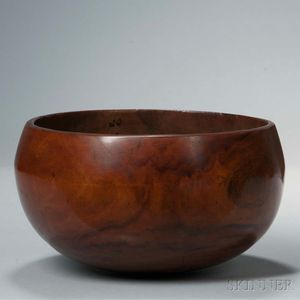 Hawaiian Carved Wood Bowl, 'Umeke La'au Puahala