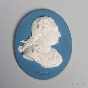 Wedgwood & Bentley Jasper Portrait Medallion