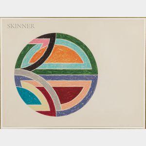 Frank Stella (American, b. 1936)      Sinjerli Variation I